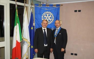 Passaggio di consegne al Rotary Club Area Grecanica
