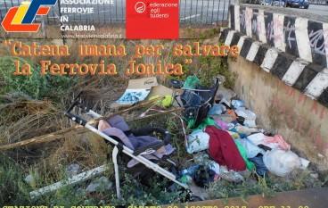 Catena Umana per Salvare la Ferrovia Jonica