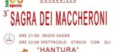 """Marina di San Lorenzo, tutto pronto per la """"Sagra dei Maccheroni"""""""