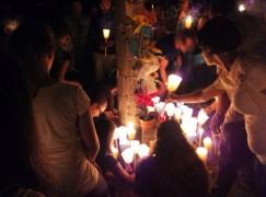 Sellia Marina, svolta fiaccolata vittime S.S. 106 (FOTO)