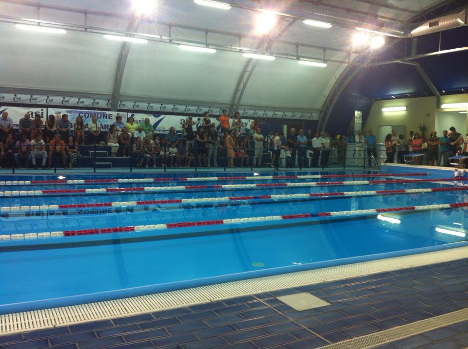 Aperta la piscina comunale di bova marina - Piscina comunale di ala ...