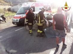 Catanzaro, incidente stradale in Viale Europa