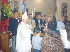 Platania, Il vescovo Cantafora alla festa di San Michele