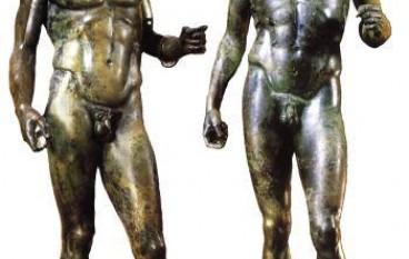 I bronzi di Riace all'Expo di Milano