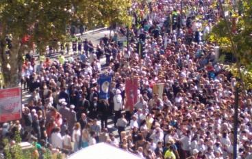 Reggio Calabria, Processione Madonna della Consolazione: FOTO