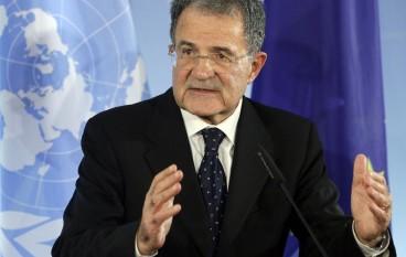 Locri, visita di Romano Prodi in ricordo di  Francesco Fortugno