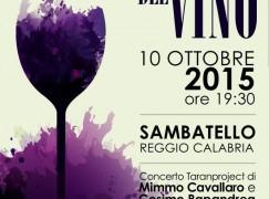 Sambatello, Cavallaro e Papandrea alla Festa del Vino