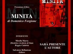 """Reggio Calabria, presentazione del libro """"Minita""""di Forgione"""