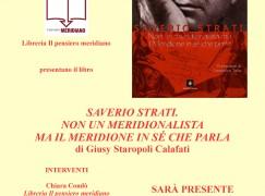 """Tropea, presentazione del libro """"Saverio Strati"""" di Giusy Staropoli Calafati"""