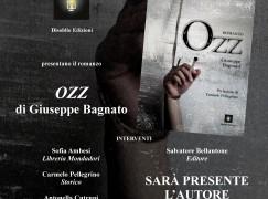 """A Gioia Tauro presentazione del romanzo """"Ozz"""" di Giuseppe Bagnato"""