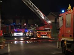 Incendio in abitazione in centro città a Lamezia Terme