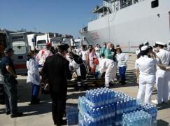 Sbarco di migranti a Crotone e Reggio Calabria