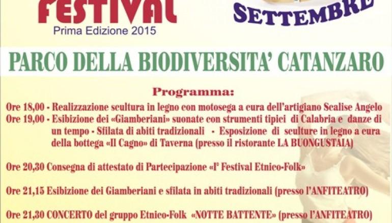 Catanzaro, appuntamento con l'Etnico Folk Festival