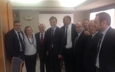 Variante Ss 106, Pietro Fuda parla con il Ministro Del Rio