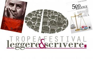 """Tropea Festival: presentazione di """"Saverio Strati"""" e """"500 Regole"""""""