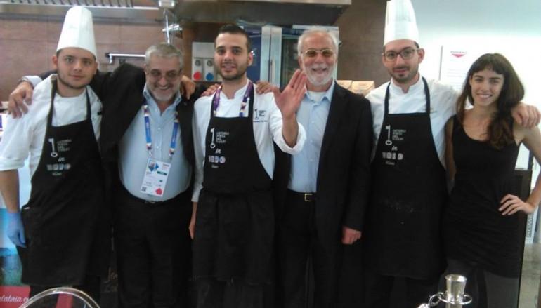 Saracena (Cs), successo ad Expo con lo chef Di Pace