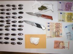 Mandatoriccio, tre arresti per detenzione ai fini di spaccio di droga