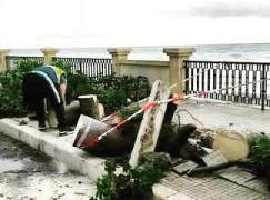 Danni per il maltempo a Melito Porto Salvo