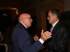 Oliverio a Bonifati per salutare Romano Prodi