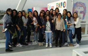 Le studentesse del Da Vinci-Nitti di Cosenza sfilano all'Expo