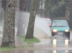 Maltempo in Calabria: pioggia, vento e grandine