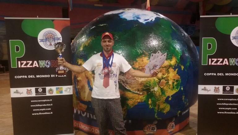 Pizza World Cup, Egidio Montoli è campione del mondo