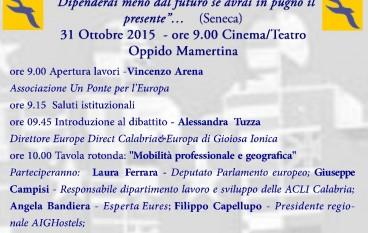 """Oppido Mamertina, Info Day """"Progetta il tuo Futuro"""""""