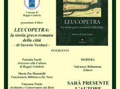 """Reggio Calabria, presentazione libro """"Leucopetra: la storia greco-romana della città"""""""