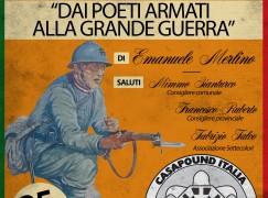"""A Lamezia lo spettacolo """"Dai poeti armati alla Grande Guerra"""""""