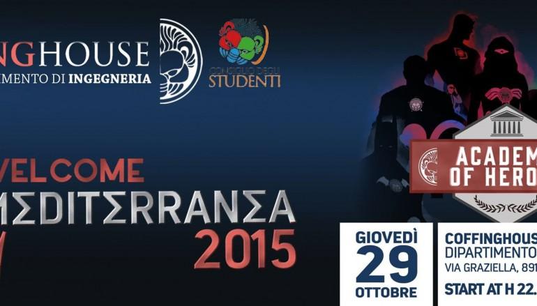 Evento di benvenuto all'Università Mediterranea