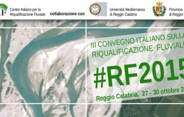 Reggio Calabria ospiterà convegno su Riqualificazione Fluviale