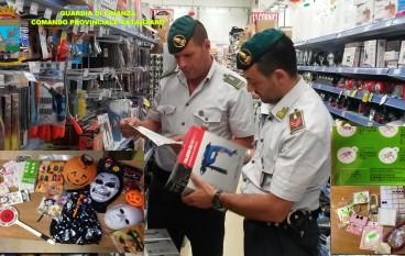 Lamezia Terme, ingente sequestro di prodotti illegali