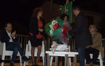 Condofuri, Natina Pizzi alla cerimonia inaugurale