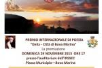 """Attesa per il premio: """"Delia, Città di Bova Marina"""""""