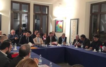 A San Roberto incontro dei sindaci dell' Area Metropolitana