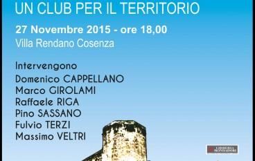 Il Touring Club Italiano presenta il Club di Territorio di Cosenza