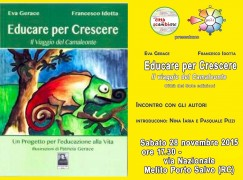 """Melito di Porto Salvo, presentazione libro """"Educare per crescere"""""""