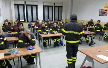 Lamezia Terme: corso di Polizia Giudiziaria per i Vigili del Fuoco