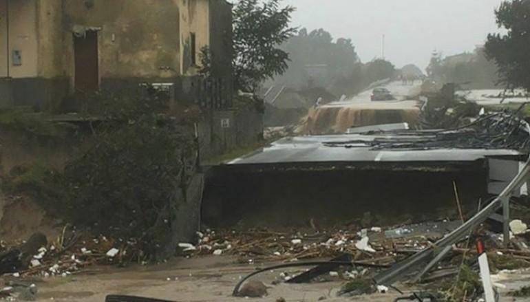 Reggio Calabria, i danni del maltempo