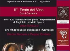 Montebello Jonico, al via la Festa del vino con i Cumelca