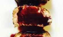 Filetto di maiale alle mandorle e vino