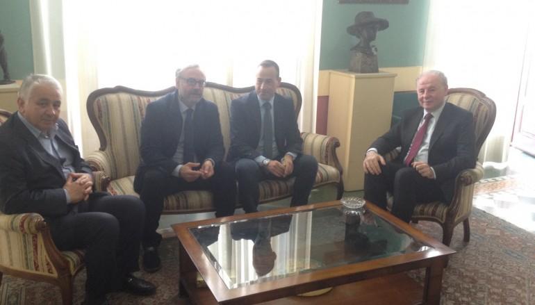 Raffa incontra i vertici provinciali della Fipav