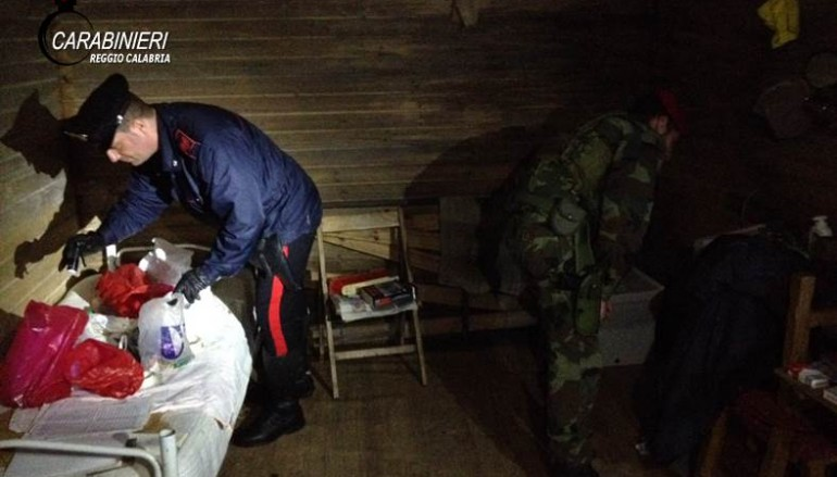 Melicuccà, arrestato latitante nascosto in bunker