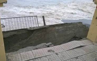 Melito di Porto Salvo, danni per il maltempo