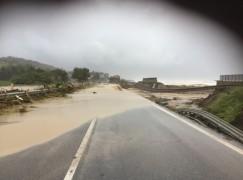 Maltempo, situazione viabilità in Calabria: chiusa SS106 a Brancaleone