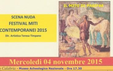 """Reggio Calabria, """"il mito di Pasifae"""" rivive al museo"""