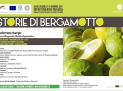 """Reggio Calabria, al via il convegno """"Storie di Bergamotto"""""""
