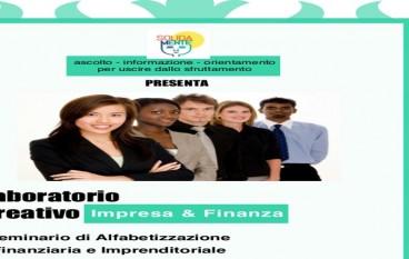 Gioiosa Ionica, laboratorio creativo impresa e finanza