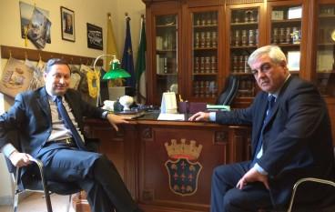 Rossano (CS): il commissario Lombardo incontra l'ex sindaco Antoniotti