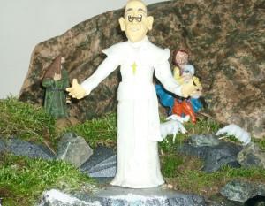 Papa Francesco presepe Platania